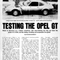 Swank Jan 1970 - Testing the Opel GT 1
