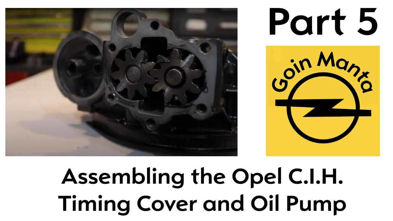 Part 5 - Opel C.I.H. Timing Cover Prep