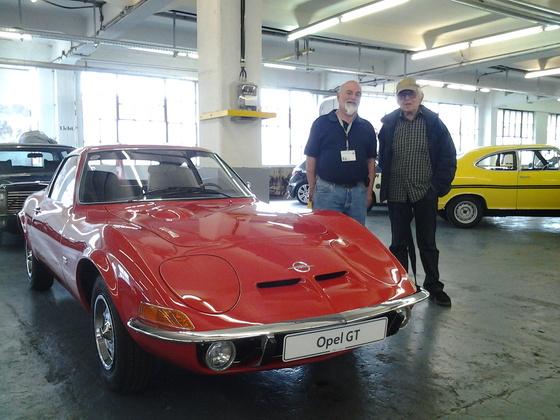 1968 Opel GT + Erhard Schnell