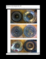 Chevy S-10 Clutch for an Opel GT